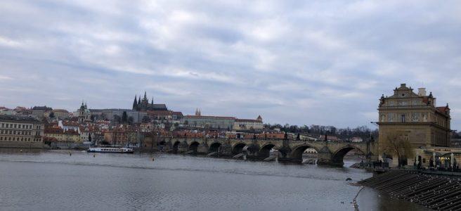 Prag-Karlsbron-slottet