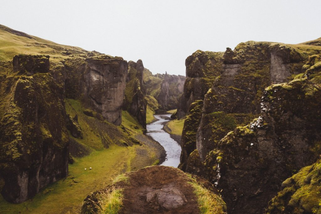 Vandra på Island