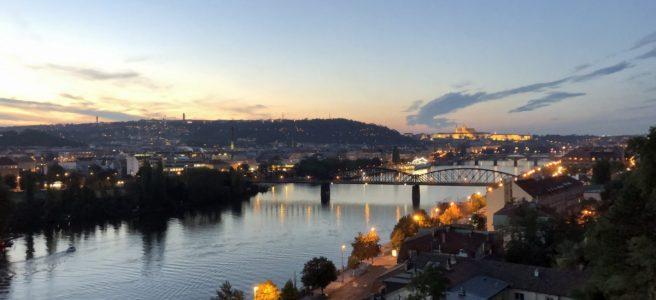 Prag från Vysehrad